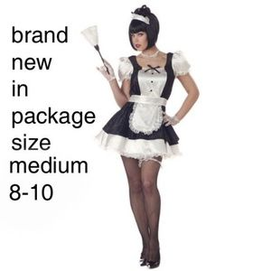 Fiona the French maid costume Medium nwt